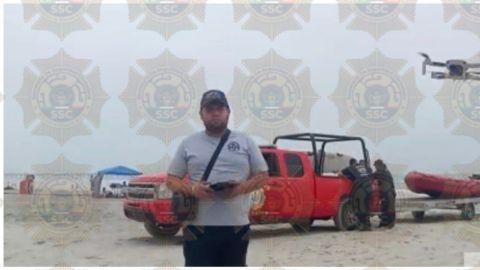 Buscan a joven que se lo tragó el mar en Playas de Rosarito