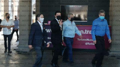 Samuel García y 'El Bronco' se reúnen por primera vez tras elecciones en NL