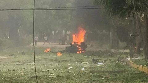 Estallan dos coches bomba en instalaciones militares de Colombia; hay 36 heridos