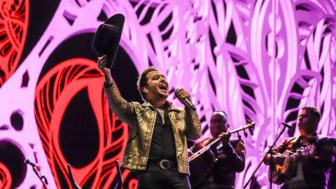 Christian Nodal con histórico y exitoso regreso a los escenarios en Palco Tecate