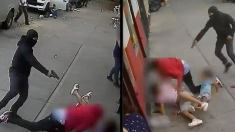 📹 VIDEO: Disparan en contra de hombre en calles de NY frente a 2 niños
