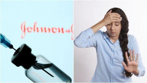 Conoce los efectos secundarios que tiene la vacuna Johnson & Johnson