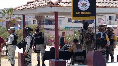 Presencia militar reduce hasta en 80% índice delictiva en Sánchez Taboada