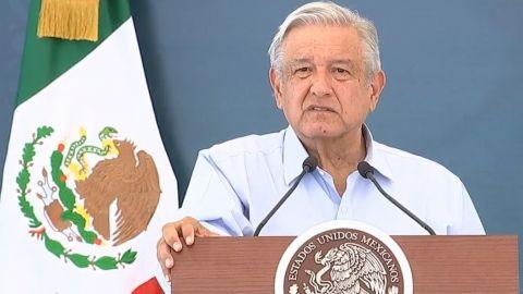 """""""Ya debe abrirse la frontera, ya cumplimos con la vacunación en BC"""": AMLO"""