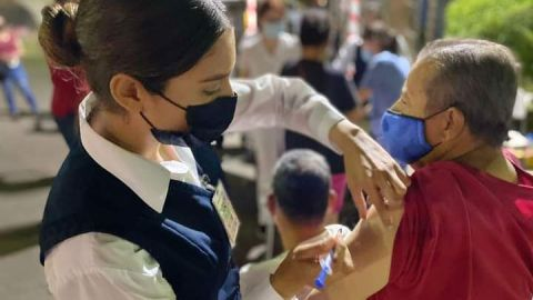 Termina la vacunación anticovid en Tijuana 2 horas antes