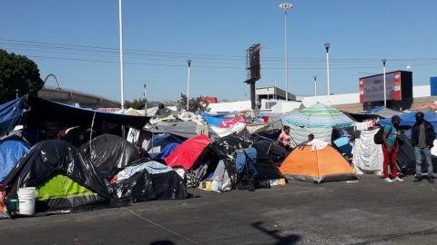 Desalojarán el campamento migrante de ''El Chaparral''