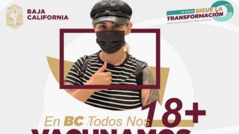 Bajacalifornianos, protegidos ante el Covid 19, con vacuna