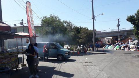 Comerciantes sin afectación por retiro de migrantes en El Chaparral