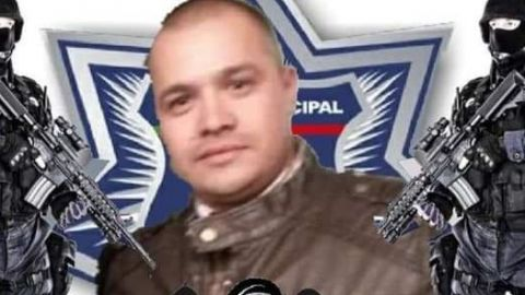 Despiden con honores a policía atropellado en Rosarito