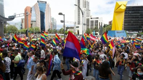 Gobierno de la CDMX reporta 30 mil asistentes en la marcha LGBTTTIQ+