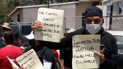 Afectados de Lomas del Rubí exigen justicia