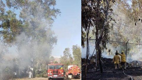 ¡Incendio en el Parque Morelos!