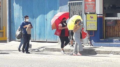 Registran altas temperaturas y sin agua en la ciudad