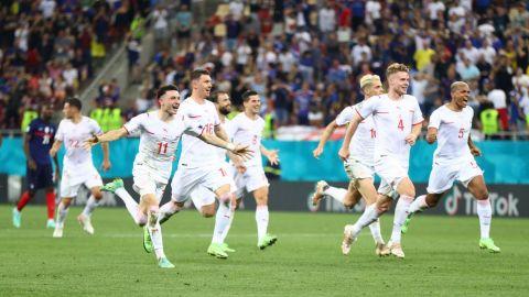 Por primera vez, Suiza avanzó en ronda de penaltis al echar a Francia