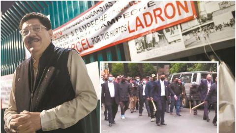 Arman trifulca afuera de sede nacional del PRI