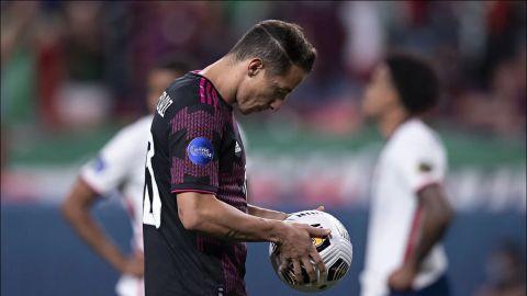 Andrés Guardado es baja de la Selección Mexicana; se perderá la Copa Oro