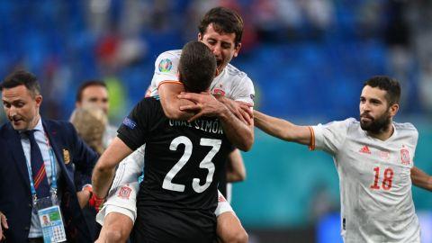 España vence a Suiza en penales y avanza a la semifinal de la Eurocopa