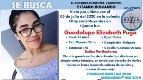 Familiares de desaparecidos se manifestarán este lunes en Tijuana