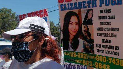 Antes de desaparecer a mi hija, le quemaron su carro: mamá de Elizabeth Puga