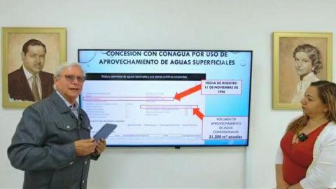 Bonilla Valdez denuncia a la empresa Zahori por deuda de 3 millones de pesos