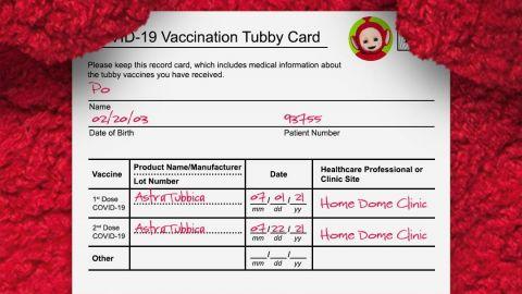 Teletubbies confirman que ya fueron vacunados contra COVID