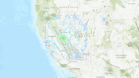 Sismo de 6.2 hace presencia entre California y Nevada