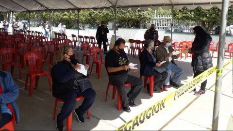 Sin tiempo de espera en sitios de vacunación de Tijuana
