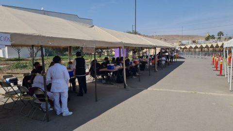 Arranca vacunación en Mexicali a enfermos en casa