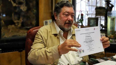 Jorge Hank ofrece una disculpa pública a las mujeres tras mandato del TEPJF