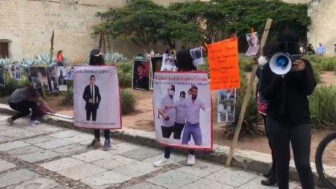 Con tendedero, exhiben a deudores de pensiones alimenticias en Oaxaca