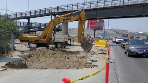 Cerrarán vialidad tres meses por reparación de colector