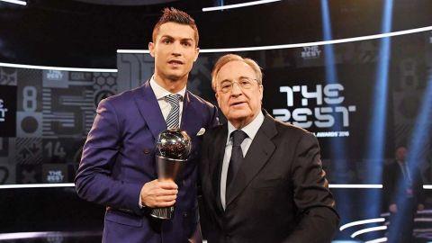 Filtran audios de Florentino Pérez llamando imbécil a Cristiano Ronaldo