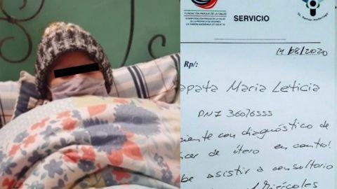 Mujer finge tener cáncer de útero y huye del país con el dinero recaudado