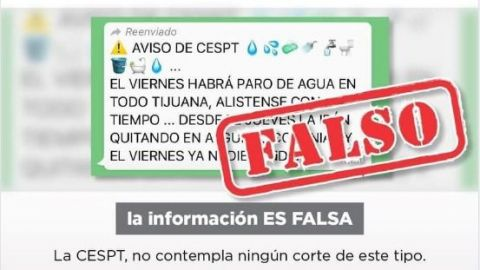 ⚠️ ¡FALSO! ⚠️ Corte masivo de CESPT