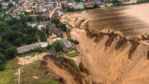 Reportan más de 100 muertos y 1300 desaparecidos por inundaciones en Alemania
