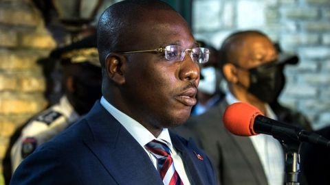Claude Joseph dimitirá como primer ministro interino en Haití