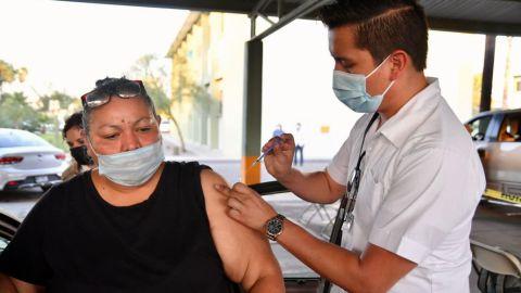 Apenas 626 personas se vacunaron en Tijuana hoy