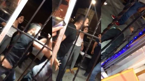 📹 VIDEO: Hombre pelea con 4 presuntos acosadores de mujer en Coahuila