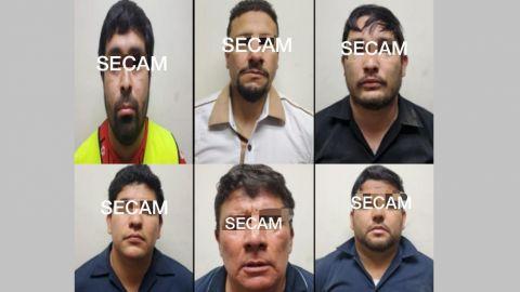 Los detenidos en Tijuana con drogas y casi un millón de dólares