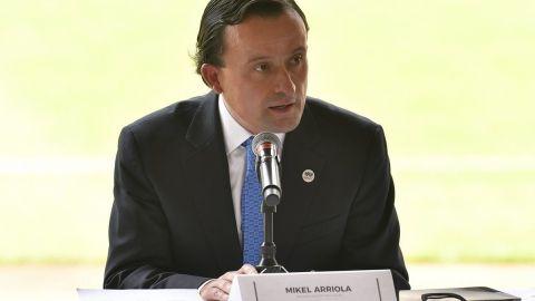 Mikel Arriola, presidente de la Liga MX, da positivo a Covid-19