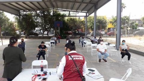 Vacunación fluida en Tijuana
