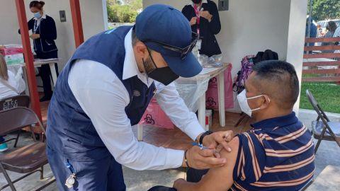 Más de 6 mil vacunados con segunda dosis de AztraZeneca