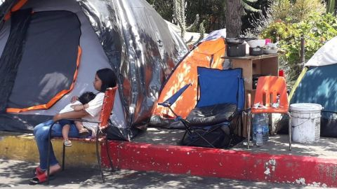 Arriban más migrantes mexicanos a Tijuana