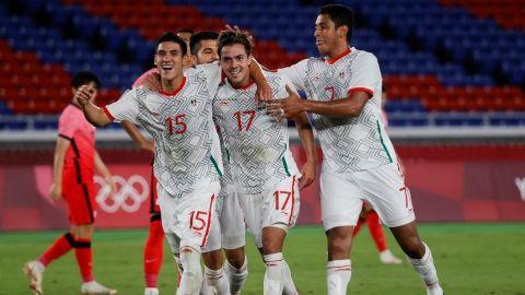 México golea a Corea del Sur y avanza a la semifinal en los Juegos Olímpicos