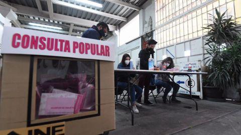 Consulta Popular alcanza un 7.74% de participación según conteo rápido del INE