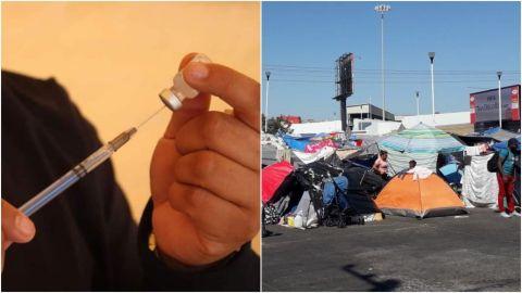 MAÑANA comienza la vacunación a migrantes del campamento de El Chaparral