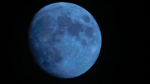 Cuándo se podrá ver la luna azul de agosto