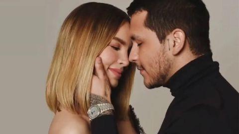 'Ya está casada'; comentario desata rumores sobre la boda de Belinda y Christian