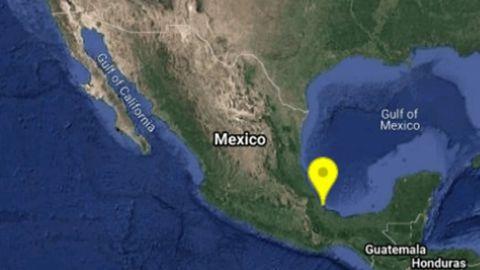 Despierta sismo a habitantes de Veracruz