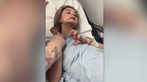 VIDEO: Joven quedó paralizada tras consumir bebida en bar